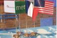 Bandeira na tabela
