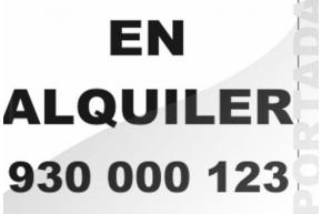 EN ALQUILER 100 X 75 cm