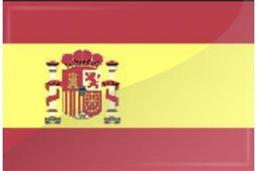 PRINTED FLAT SPAIN
