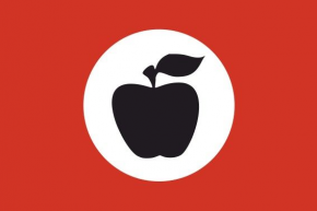 Apple tedesco Fronte