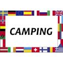 Camping banderas