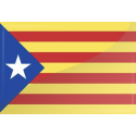 Cataluña estelada bordada (sb)