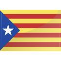 Catalunya estelada bordada (sb)