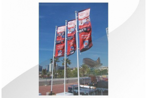 FLAGGE TEXTIL DOUBLE-SIDED