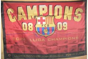 FC BARCELONA TRICAMPIONS