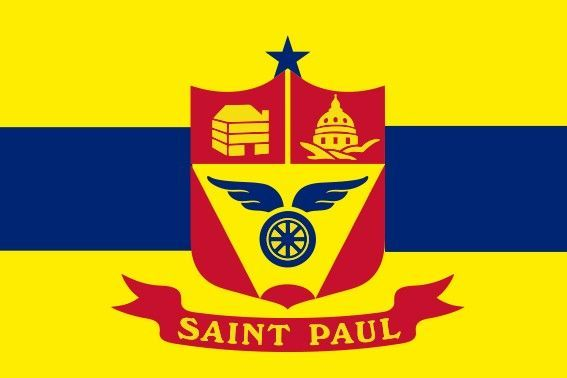 Bandera de Saint Paul (Minnesota)