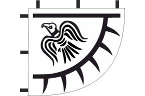 Bannière au corbeau