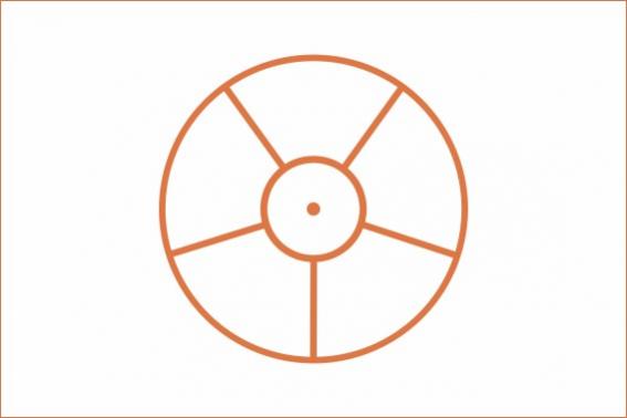 bandera de Auroville