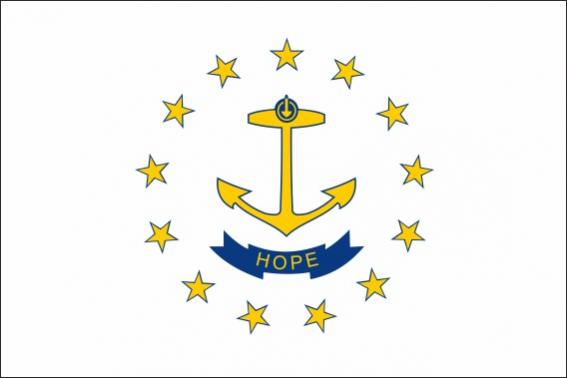 Bandera de Rhode Island
