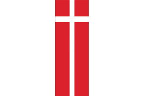 Dinamarca -VERTICAL - 93 X 265 - anillas
