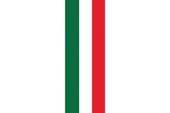 ITALIA -VERTICAL - 93 X 265 - anillas