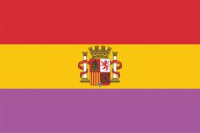 ESPAÑA REPUBLICA bordada (sb)