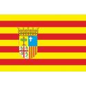 Aragon raso estampado