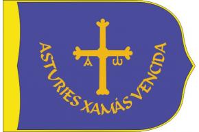 Asturies Xamás Vencida estandarte