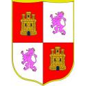 Corona de Castella i Lleó pendó