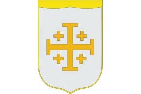 Reino Cristiano de Jerusalén pendón