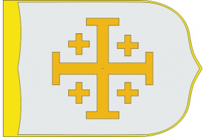 Christian Kingdom of Jerusalem banner