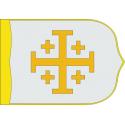 Regne Cristià de Jerusalem estandart