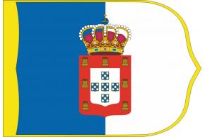 Reino de Portugal 1830 estandarte