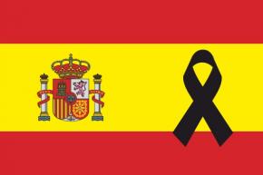 España Crespón Negro