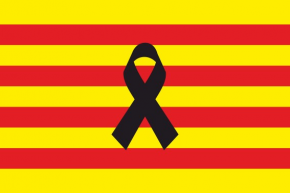 Catalunya Crespón Negro
