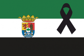 Extremadura with black crepe