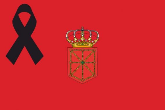 Navarra Crespón Negro