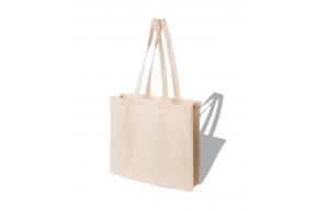 Cotton Bag LH 38x42X10cm 145g/m2 LH Ecru