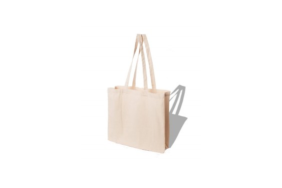 Bolsa de algodón LH 38x42cm 145g / m2 LH Crudo